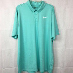 Nike Dri Fit Aqua Standard Golf Polo Shirt Sz XXL